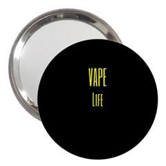 Vape Life Yellow  3  Handbag Mirror by OCDesignss