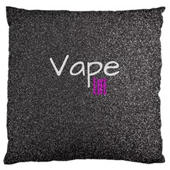 Vape Life  Large Cushion Case (two Sided)  by OCDesignss