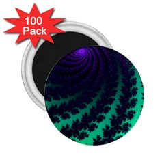 Sssssssfractal 2 25  Button Magnet (100 Pack) by urockshop