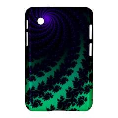 Sssssssfractal Samsung Galaxy Tab 2 (7 ) P3100 Hardshell Case  by urockshop