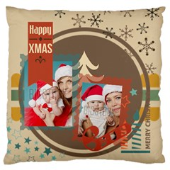 Xmas By Xmas   Large Flano Cushion Case (two Sides)   3yd7x1xjf69o   Www Artscow Com Back