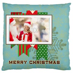 Xmas By Xmas   Large Flano Cushion Case (two Sides)   Pqkjo5te9uab   Www Artscow Com Front