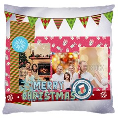 Xmas By Xmas   Large Flano Cushion Case (two Sides)   Kx2rk11s8wza   Www Artscow Com Front