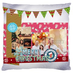 Xmas By Xmas   Large Flano Cushion Case (two Sides)   Kx2rk11s8wza   Www Artscow Com Back