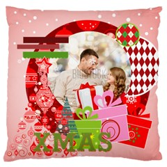 Xmas By Xmas   Large Flano Cushion Case (two Sides)   K3b9fybyrk35   Www Artscow Com Front