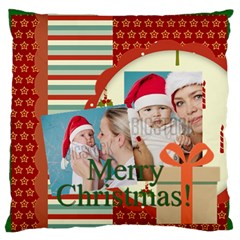 Xmas By Xmas   Large Flano Cushion Case (two Sides)   2v63fp0qfw9c   Www Artscow Com Back