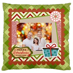 Xmas By Xmas   Large Flano Cushion Case (two Sides)   Tpasny81aaj5   Www Artscow Com Front