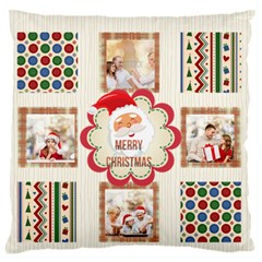 Xmas By Xmas   Large Flano Cushion Case (two Sides)   A21i4o0d5cr1   Www Artscow Com Front
