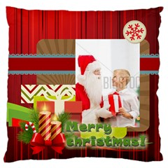 Xmas By Xmas   Large Flano Cushion Case (two Sides)   6ktsuwkxcpzs   Www Artscow Com Back