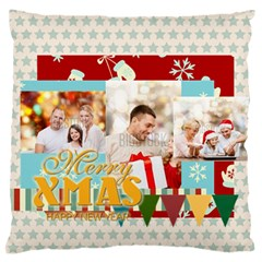 Xmas By Xmas   Large Flano Cushion Case (two Sides)   Ytg8zzq41cfg   Www Artscow Com Back