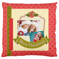 Xmas By Xmas   Large Flano Cushion Case (two Sides)   M2bo23cf43v2   Www Artscow Com Front