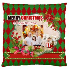 Xmas By Xmas   Large Flano Cushion Case (two Sides)   80kusquyp24x   Www Artscow Com Back