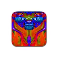 Lava Creature Drink Coaster (square) by icarusismartdesigns