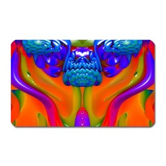 Lava Creature Magnet (rectangular) by icarusismartdesigns
