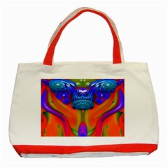 Lava Creature Classic Tote Bag (red) by icarusismartdesigns