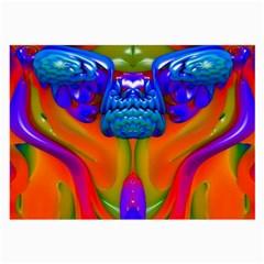 Lava Creature Glasses Cloth (large) by icarusismartdesigns