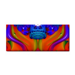 Lava Creature Hand Towel by icarusismartdesigns