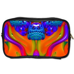 Lava Creature Travel Toiletry Bag (one Side) by icarusismartdesigns