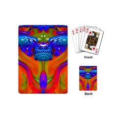 Lava Creature Playing Cards (mini) by icarusismartdesigns