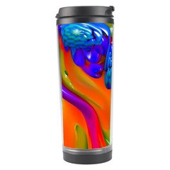 Lava Creature Travel Tumbler by icarusismartdesigns