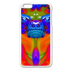Lava Creature Apple Iphone 6 Plus Enamel White Case by icarusismartdesigns