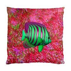 Fish Cushion Case (two Sided)  by icarusismartdesigns