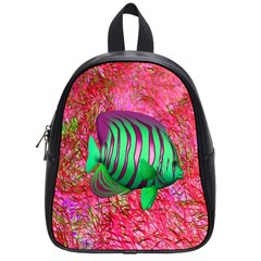 Fish School Bag (small) by icarusismartdesigns