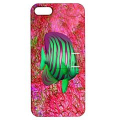 Fish Apple Iphone 5 Hardshell Case With Stand by icarusismartdesigns