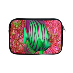 Fish Apple Ipad Mini Zippered Sleeve by icarusismartdesigns