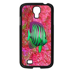 Fish Samsung Galaxy S4 I9500/ I9505 Case (black) by icarusismartdesigns