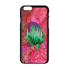 Fish Apple Iphone 6 Black Enamel Case