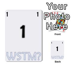 Who Starts This Mess? Card Deck By Gary H   Multi Purpose Cards (rectangle)   5s83ygdjn7wb   Www Artscow Com Front 1