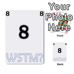 Who Starts This Mess? Card Deck By Gary H   Multi Purpose Cards (rectangle)   5s83ygdjn7wb   Www Artscow Com Front 8