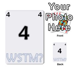 Who Starts This Mess? Card Deck By Gary H   Multi Purpose Cards (rectangle)   5s83ygdjn7wb   Www Artscow Com Front 4