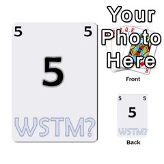 Who Starts This Mess? Card Deck By Gary H   Multi Purpose Cards (rectangle)   5s83ygdjn7wb   Www Artscow Com Front 5