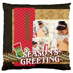 Xmas By Xmas4   Standard Flano Cushion Case (two Sides)   L54ys05tytdh   Www Artscow Com Front