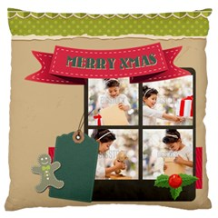 Xmas By Xmas4   Standard Flano Cushion Case (two Sides)   Rao08j5h1wcd   Www Artscow Com Back