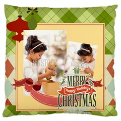 Xmas By Xmas4   Standard Flano Cushion Case (two Sides)   Jkkiqrnalfld   Www Artscow Com Back