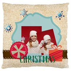 Xmas By Xmas   Large Flano Cushion Case (two Sides)   Ca3o5jhnd8t1   Www Artscow Com Back