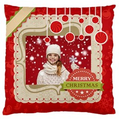Xmas By Xmas   Large Flano Cushion Case (two Sides)   A8n3yb93dh5w   Www Artscow Com Front