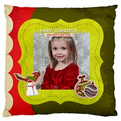 Xmas By Xmas   Large Flano Cushion Case (two Sides)   C8t2wf1odn97   Www Artscow Com Front