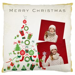 Xmas By Xmas   Large Flano Cushion Case (two Sides)   N84m0g3al091   Www Artscow Com Front