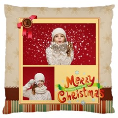 Xmas By Xmas   Large Flano Cushion Case (two Sides)   Xo3vnwwamgpt   Www Artscow Com Back