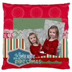 Xmas By Xmas   Large Flano Cushion Case (two Sides)   M1bckgw18392   Www Artscow Com Front