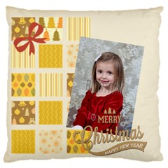 Xmas By Xmas   Large Flano Cushion Case (two Sides)   R5zw7kc1onym   Www Artscow Com Back
