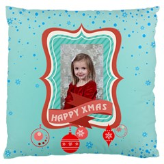 Xmas By Xmas   Large Flano Cushion Case (two Sides)   Njv86m4pfgjm   Www Artscow Com Back