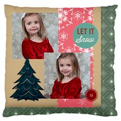 Xmas By Xmas   Large Flano Cushion Case (two Sides)   2lbdqa9tokdi   Www Artscow Com Back
