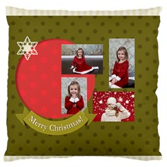 Xmas By Xmas   Large Flano Cushion Case (two Sides)   Fj3i2uzi808r   Www Artscow Com Front