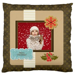 Xmas By Xmas   Large Flano Cushion Case (two Sides)   Oek29rhxhk49   Www Artscow Com Front
