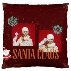 Xmas By Xmas   Large Flano Cushion Case (two Sides)   Bfj92dt27nws   Www Artscow Com Front